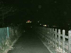 いちばん最近大山街道を歩いたのは、2007年2月12日でした。赤坂を朝9時過ぎに出発し、渋谷~三軒茶屋~二子~鷺沼~青葉台~長津田、すずかけ台に午後7時前に到着。本当は厚木まで行く予定でしたが、青葉台で携帯の機種交換をしていたら2時間近くかかってしまい断念。この日最後に撮った写真は、横浜市緑区と町田市の境目にある「馬の背」です。道の右下は田園都市線のすずかけ台駅、左には246号線が通り、ちょうど背骨のような尾根に大山街道が通っています。街灯もないので、暗くなると少し怖いです。撮影(こ)