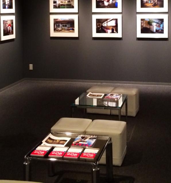 林さんの写真が掲載されているアサヒカメラとともに「ホントに歩く東海道」を置いてくださっています。
