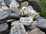 願い事の石