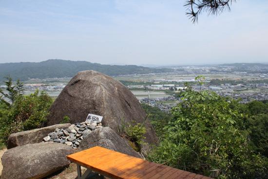八丈岩からの眺め