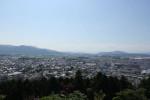 古城山展望台からの眺め