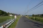 伊勢落集落の東海道