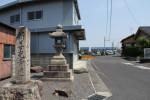 新善光寺の道標
