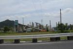 野洲川沿いのヒューム管工場