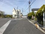 県道岩上交差点。東海道大野〜水口への分岐
