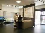 郷土資料展示室のジオラマ