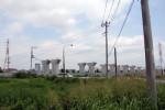 伊勢原ジャンクションの高架の柱