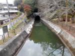 琵琶湖疏水第二トンネル入口