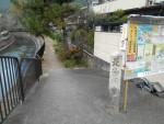 琵琶湖疏水 毘沙門堂への入口