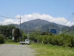 阿夫利神社二の鳥居と大山