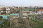 赤井堤記念碑