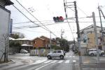 奈良街道の交差点