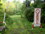 沼本 未舗装の道