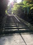 気賀 長楽寺石段