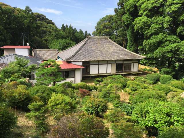気賀 長楽寺庭園