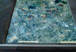遺跡周辺の航空写真
