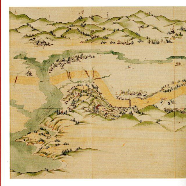 分間延絵図の都田川の東