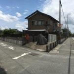姫街道 和田 吉田道分岐