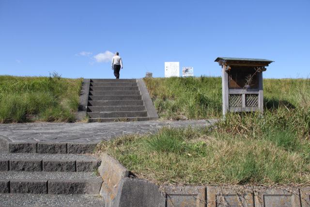 池田上の渡し付近