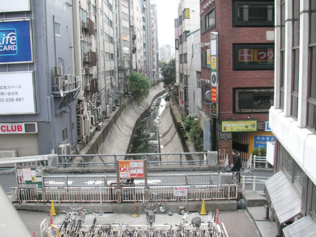 渋谷川 大山街道