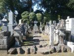慶元寺の喜多見氏墓所