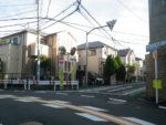 寺町通りへの曲がり角