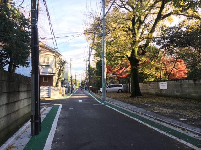 烏山の寺町通り