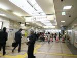 京王線下高井戸駅改札口。第三回目の集合場所です。