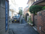渋谷区笹塚と世田谷区大原の区境