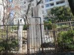 秋山好古が建立した騎兵第一連隊の顕彰碑の立つ騎兵山にも寄ります