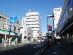 駒沢大学駅付近の区境。第三回目はここまでです。