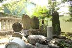 正覚寺 芭蕉の大垣の門人が、芭蕉が亡くなって100日目に建てた尾花塚がある。