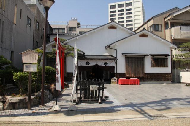 大垣宿本陣跡。明治天皇が北陸巡行した際に宿泊(明治11)。大垣祭のからくり展示などがあります。