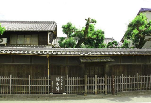 墨俣宿脇本陣跡。当時の建物ではない
