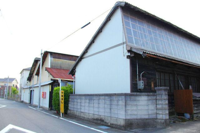 鋸屋根の家②
