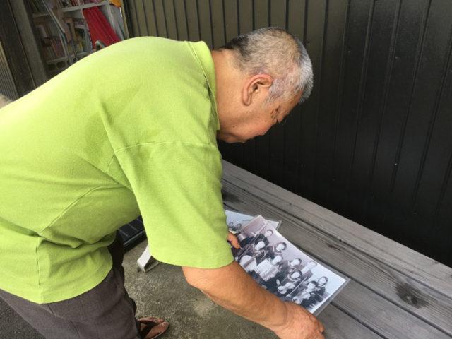 萩原は歌手・舟木一夫さんの出身地です。名鉄尾西線沿いに資料館が有り、同級生の方が写真を見せてくださいました。