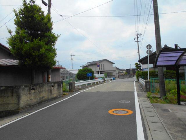 高木橋。光堂川を渡ります。