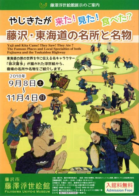 藤澤浮世絵館 東海道の名所と名物