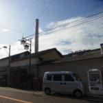 由比宿の神沢川酒造の煙突