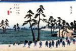 中山道 53宿 加納 広重 浮世絵