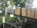 妊娠確実。赤坂宿。子安神社のまたぎ石。