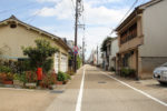 加納宿。戦災で遺構は残っていない