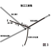 狛江三叉路