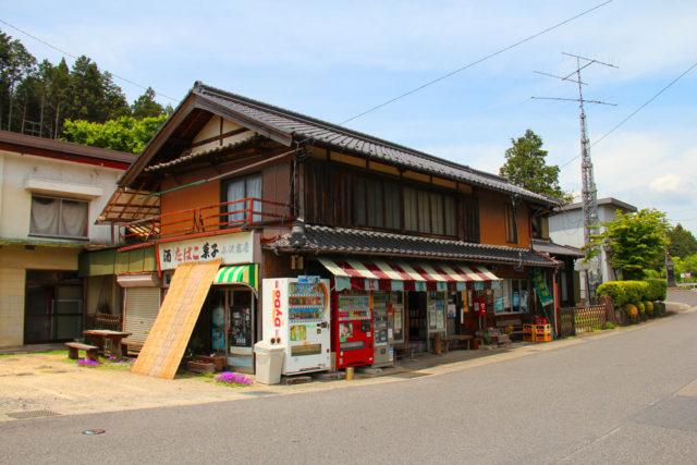 平岩辻の小沢商店(瑞浪市)