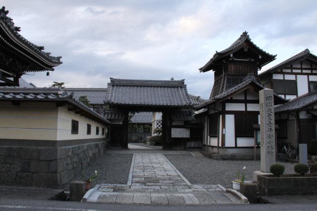 垂井宿 本龍寺