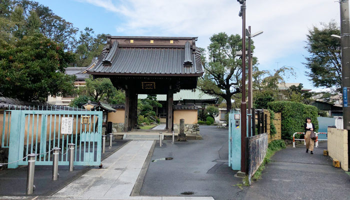 宗隆寺山門