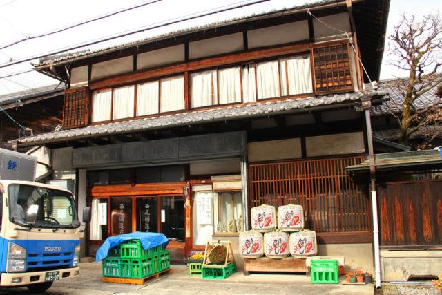 須原宿脇本陣を務めた西尾家、木曽のかけはしの西尾酒造