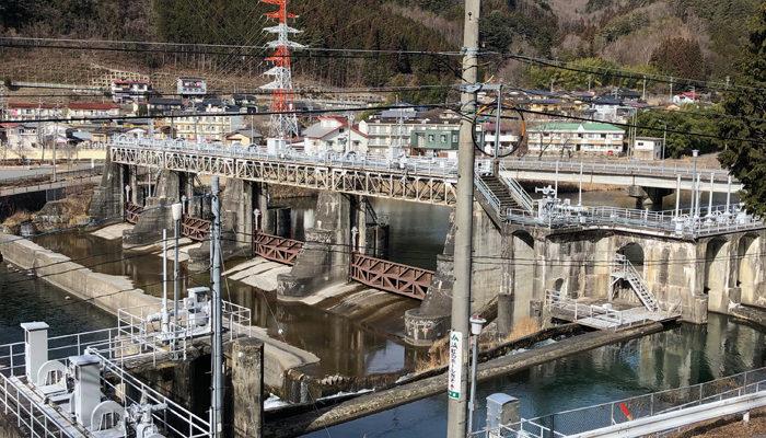 木曽川取水堰
