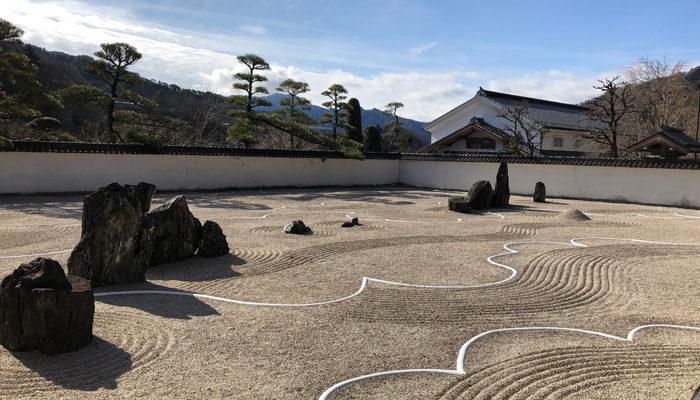 木曽義仲の墓 興禅寺 石庭