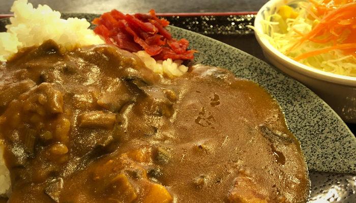 道の駅日義木曽駒高原のすんきカレー